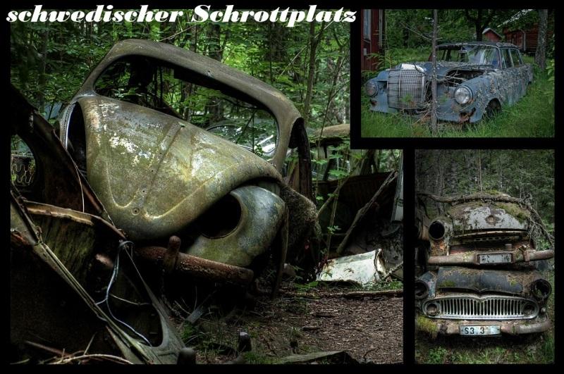 schwedischer Schrottplatz, urban exploring, urbex, marode, abandoned, lost place